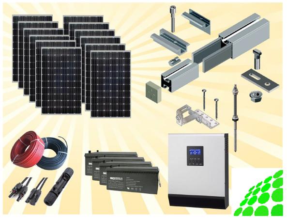 SET: 3 kWp PV-Anlage mit Speichersystem 4kWh